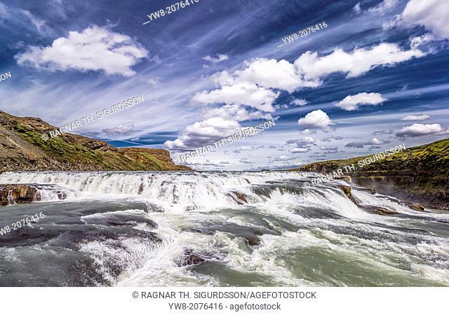 Gullfoss Waterfalls, Iceland
