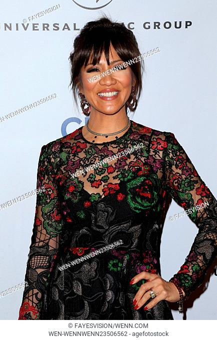 Universal Music Group's 2016 GRAMMY After Party - Arrivals Featuring: Julie Chen Where: Los Angeles, California, United States When: 15 Feb 2016 Credit:...