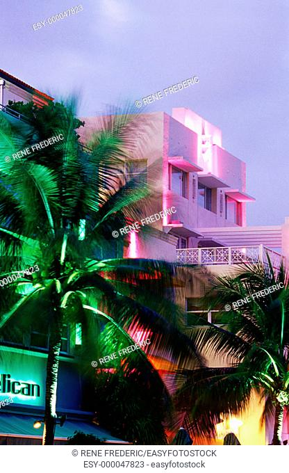 South Beach scenics. South Florida. USA