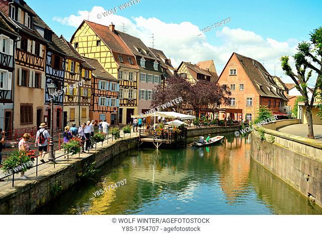 Colmar, Alsace, France, little Venice