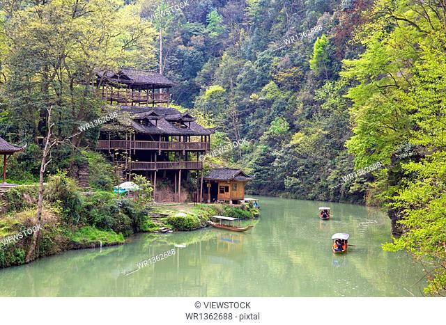 Tongren City , Guizhou Miao city scenery