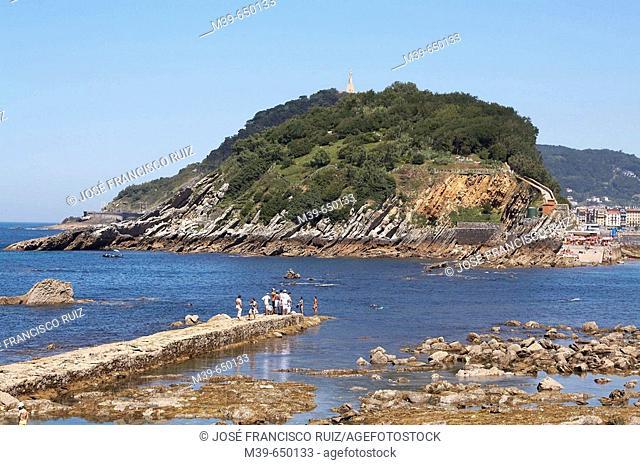 Santa Clara Island. San Sebastián-Donostia. Guipuzcoa. Euskadi. Spain