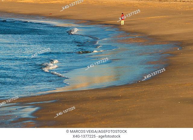 Montalvo beach  Sanxenxo, Pontevedra, Galicia, Spain