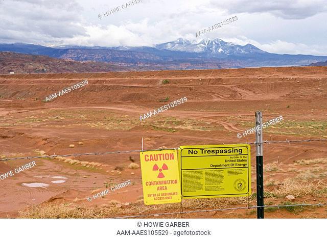 Superfund Site, Moab Uranium Mill Tailings, near Moab, Utah