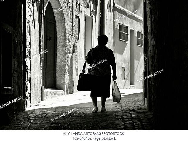 Montblanc, Tarragona province, Catalonia, Spain