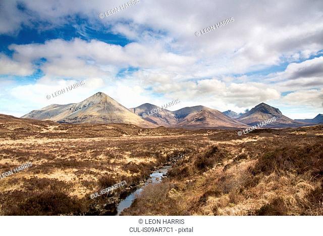 Cuillin Mountains, Isle of Skye, Hebrides, Scotland