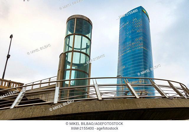 Iberdrola Tower. Bilbao, Spain, Europe
