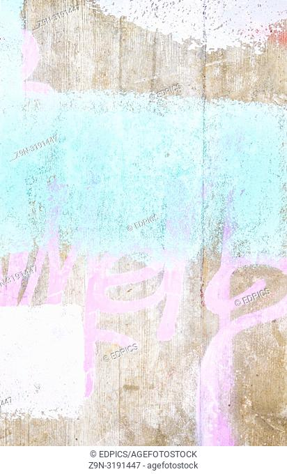 paint on concrete wall, abstract pastel colored grunge background, stuttgart, baden-wuerttemberg, germany