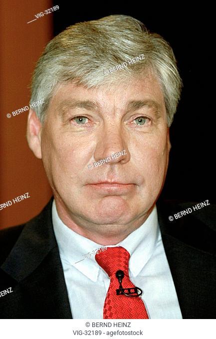 Michael SOMMER, chairman of the DGB ( Deutscher Gewerkschaftsbund, German Trade Union ). - BERLIN, GERMANY, 27/04/2003