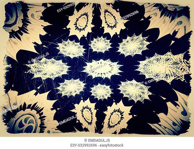 Decorative motif vintage grunge backgrounds