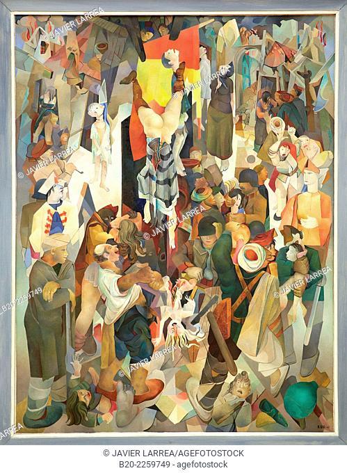Espagne, 1937. Edmond KŸss. Centre George Pompidou. Musee National d'Art Moderne. Paris. France
