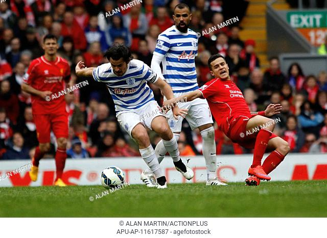 2015 Barclays Premier League Liverpool v QPR May 2nd. 02.05.2015. Liverpool, England. Barclays Premier League. Liverpool versus Queens Park Rangers