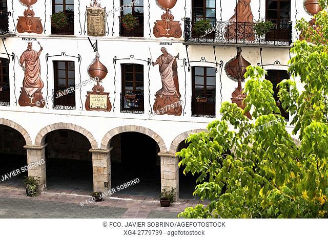 """Ayuntamiento de Vera de Bidasoa â. """" Cinco Villas - Navarra â. """" Pirineos â. """" España - Europa"""