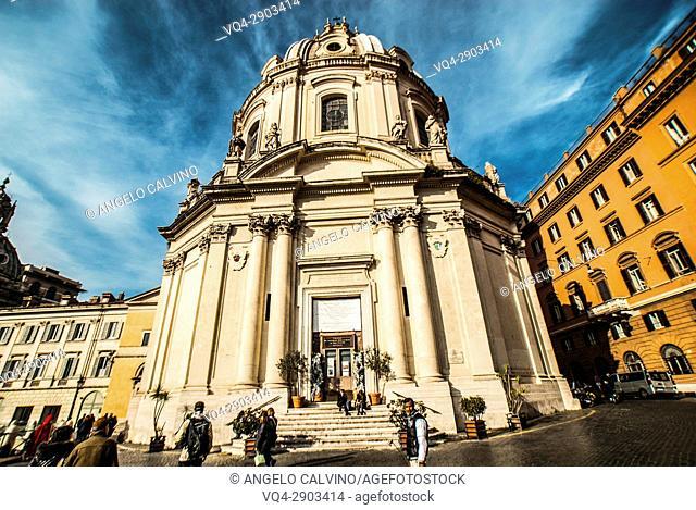 Santissimo Nome di Maria al Foro Traiano Church, Rome, italy