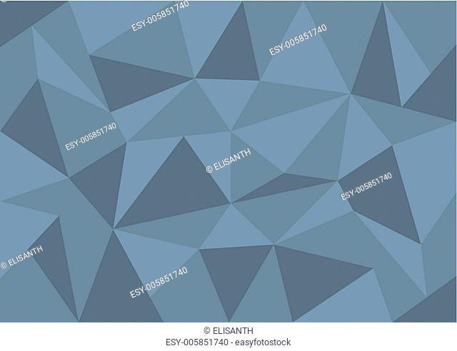 Vector simple triangle background