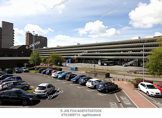 Preston bus station England UK