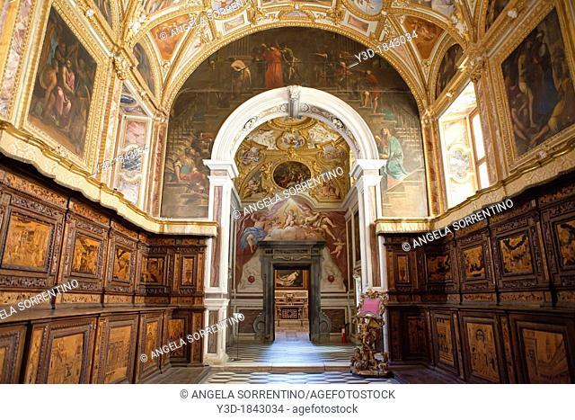 San Martino church in Naples, Italy