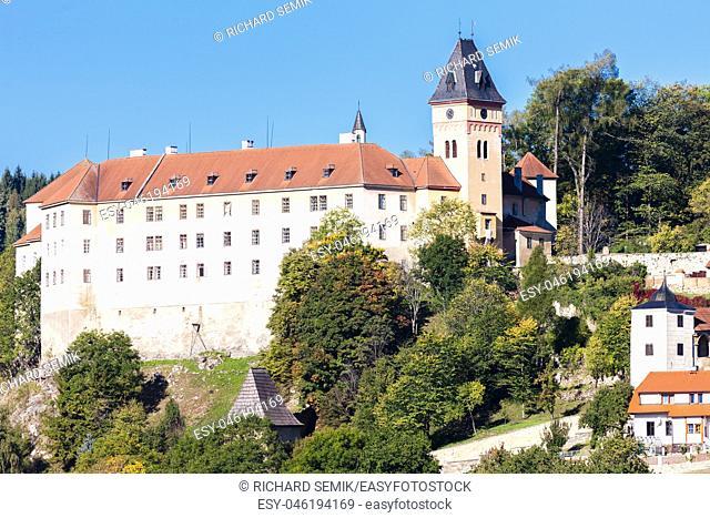 Vimperk castle, Czech Republic