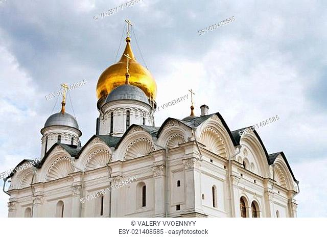 Archangel Cathedral in Moscow Kremlin