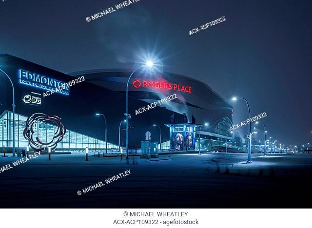 Rogers Place Arena, Edmonton, Alberta, Canada
