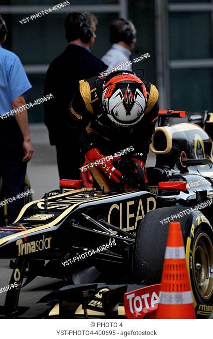 14.04.2012 - Qualifying, Kimi Raikkonen (FIN) Lotus F1 Team E20