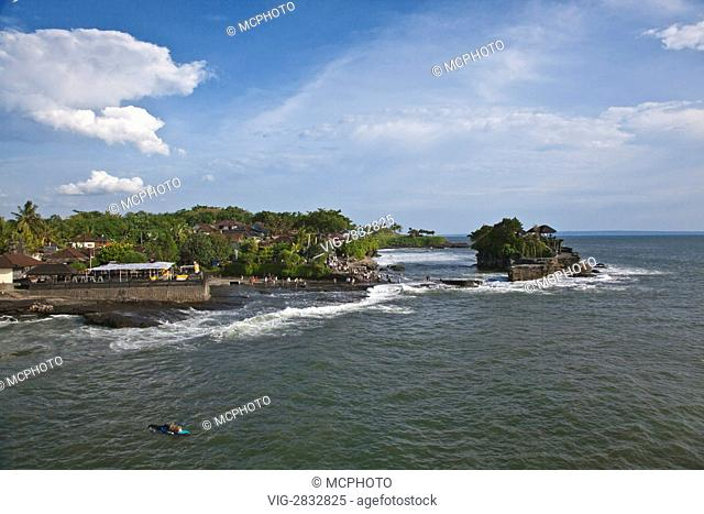 PURA TANAH LOT is one of the most important Hindu Sea Temples - BALI, INDONESIA - 15/12/2010
