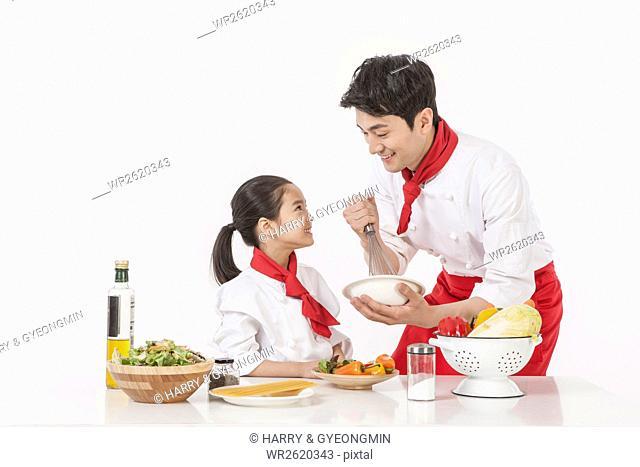 Teaching cooking