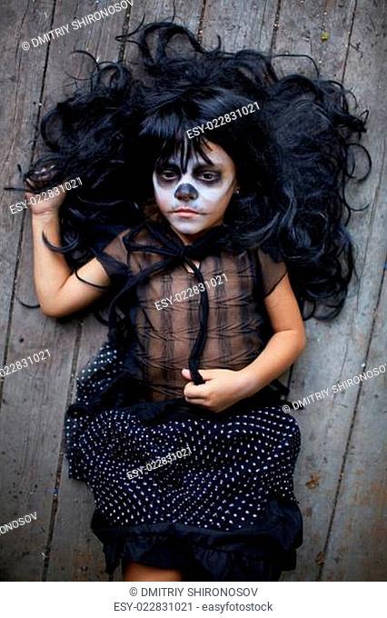 Gloomy child