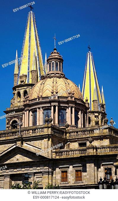 Metropolitan Cathedral, Templo de Santa Maria de Gracia, Guadalajara, Mexico