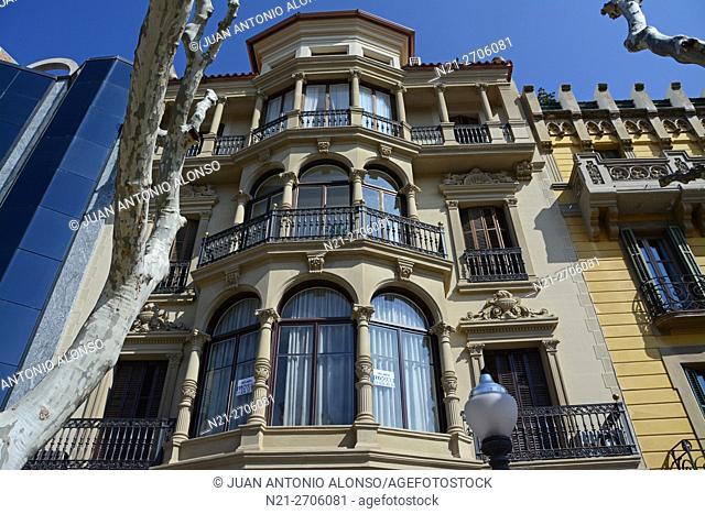 Casa Sitges. Manresa, province of Barcelona, Catalonia, Spain, Europe