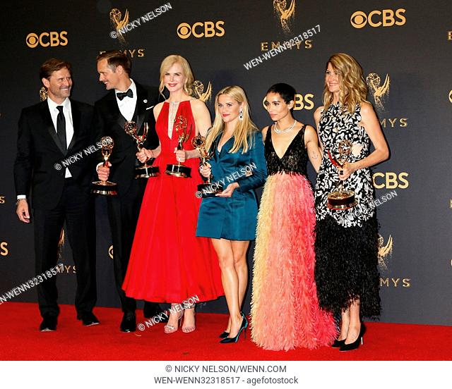 69th Primetime Emmy Awards - Press Room at the JW Marriott Gold Ballroom on September 17, 2017 in Los Angeles, CA Featuring: Jeffrey Nording