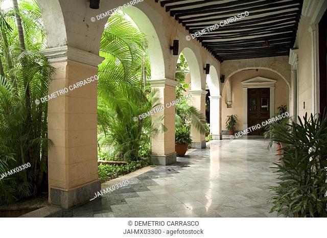 Casa de Montejo, Merida, Yucatan, Mexico