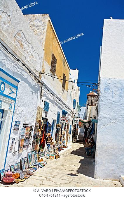 Street, Medina, Hammamet, Tunisia