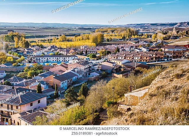 View of Ayllon. Ayllon, Segovia, Castilla y leon, Spain, Europe