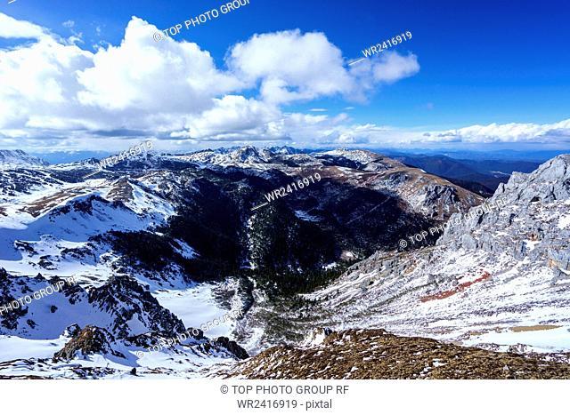 Snow Mountain Shangri La Yunnan Province