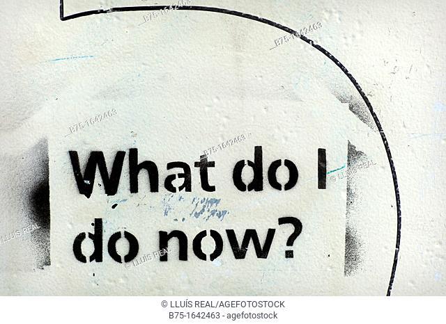 graffiti. What do I do now