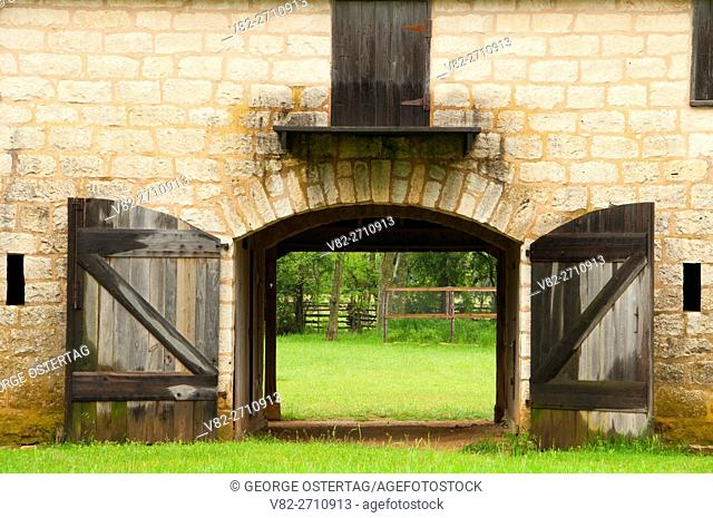 Bruckner Barn, Lyndon B. Johnson National Historical Park, Texas