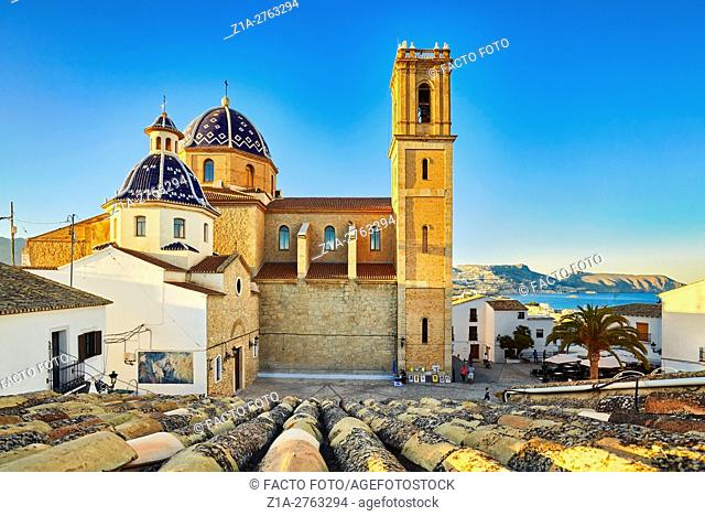 Church of Nuestra Se–ora del Consuelo. Altea. Alicante. Valencia community. Spain