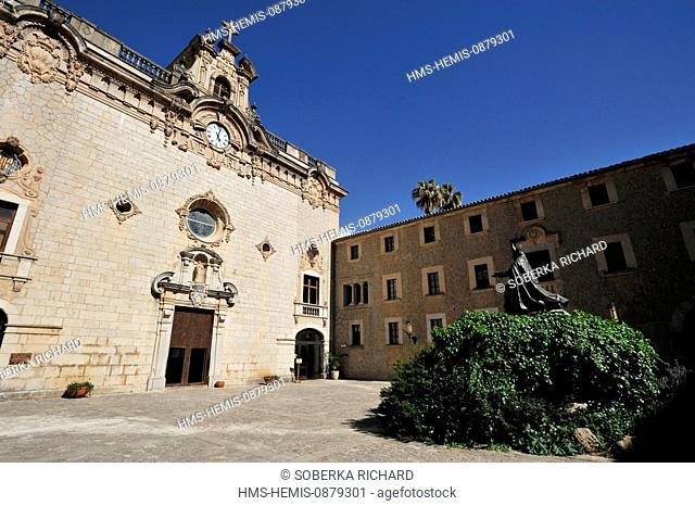 Spain, Balearic Islands, Mallorca, Escorca, Monastery Lluc, Cor de Mallorca (Majorca court)