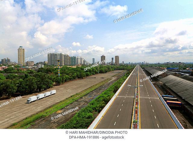 eastern freeway flyover Mumbai Maharashtra