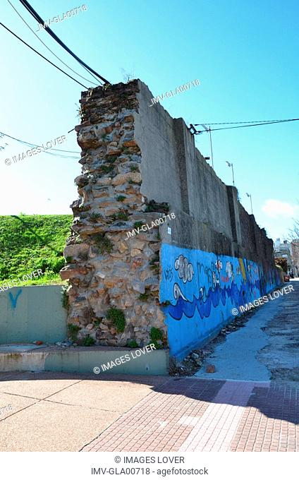 Graffiti on the Wall, Montevideo, Uruguay