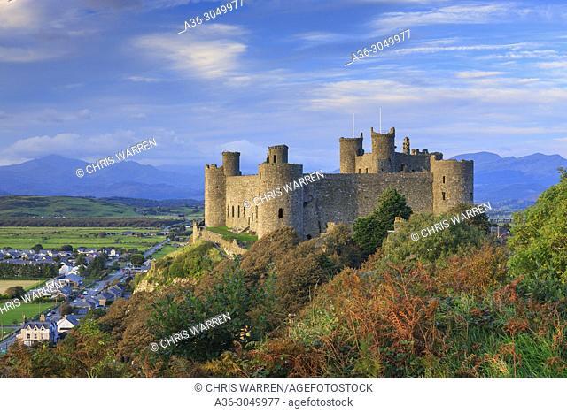 Harlech Castle Gwynedd Wales
