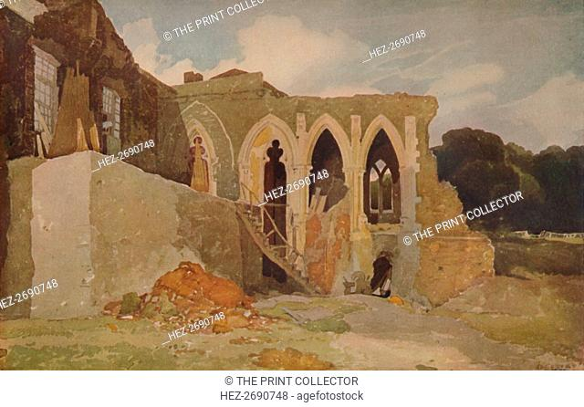 'Walsingham Abbey', 1923. Artist: John Sell Cotman