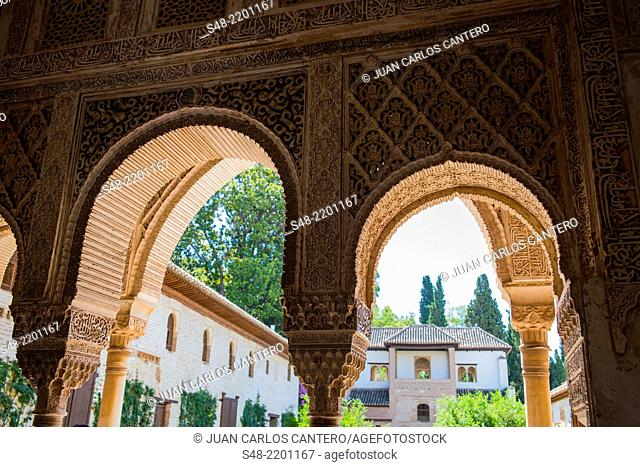 The Alhambra. Granada. Andalucia. Spain. Europe