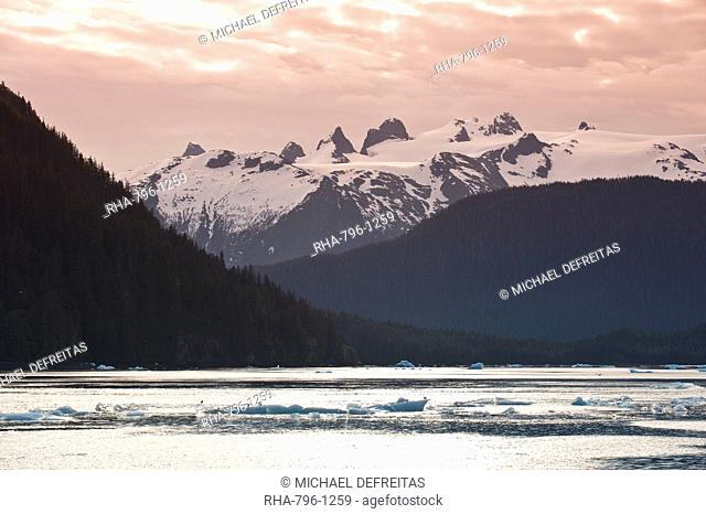 LeConte Bay, Southeast Alaska, Alaska, United States of America, North America