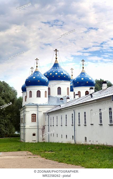 Russian orthodox Yuriev Monastery, Church of Exalt