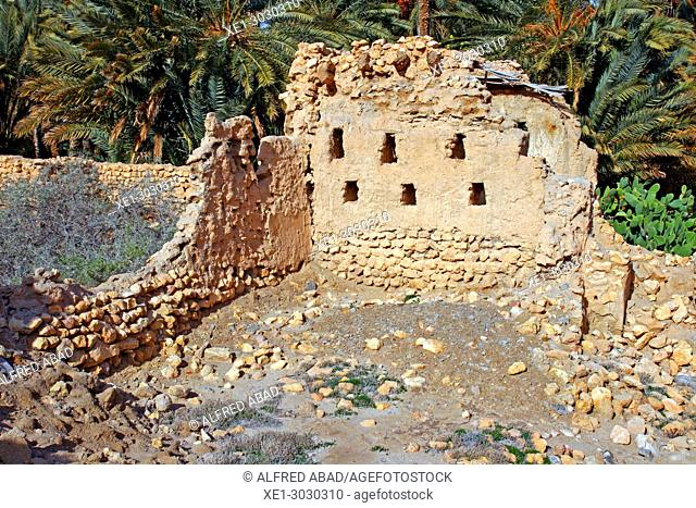 Ruins of the ancient city of Mides, Tunisia