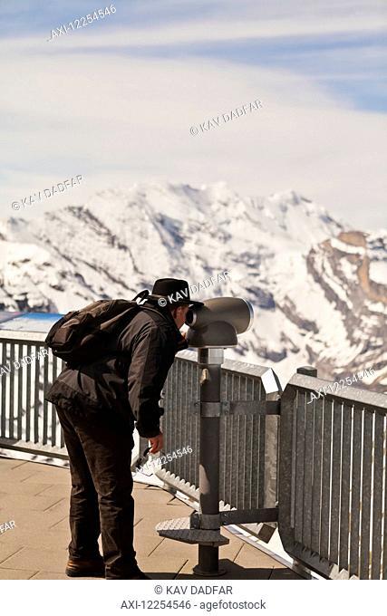 View from Piz Gloria; Bernese Oberland, Switzerland