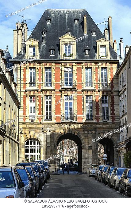 Victor Hugo House Museum, Place de Vosges, Marais, Paris