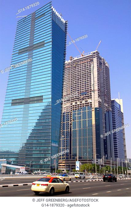 United Arab Emirates, Dubai, Sheikh Zayed Road, Sama Tower, Duja Tower